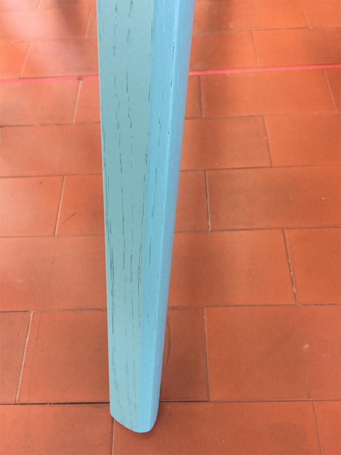 Sciangai (oak petroleum blue), Zanotta - Deesup