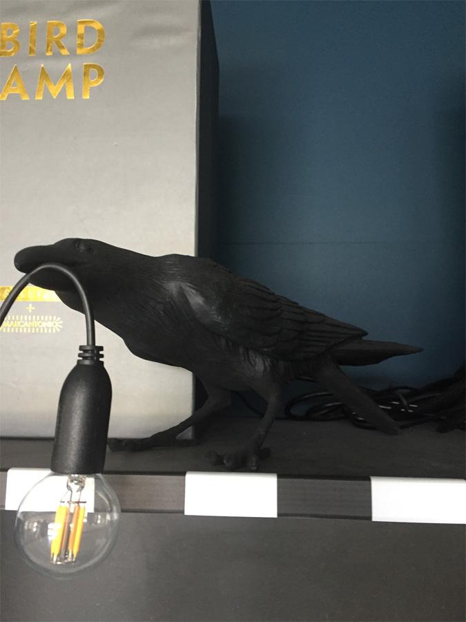 Bird Lamp Black Playing, Seletti - Deesup