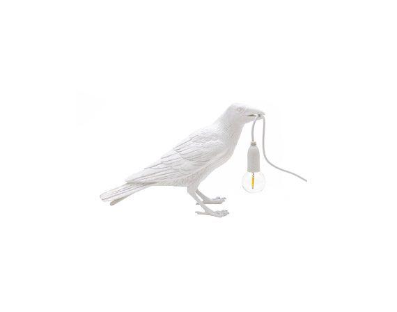 Bird Lamp White Waiting, Seletti