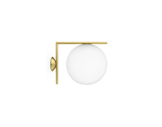 IC Lights Ceiling/Wall 2 (brass), Flos