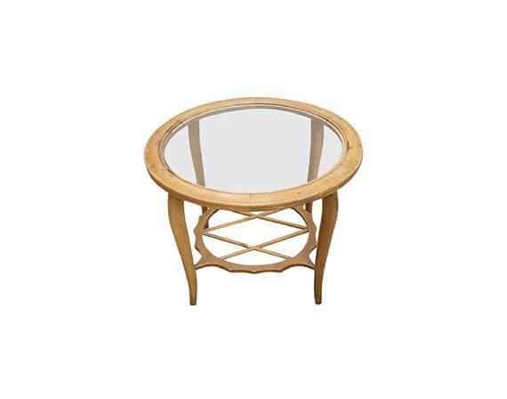 Tavolino circolare anni '40