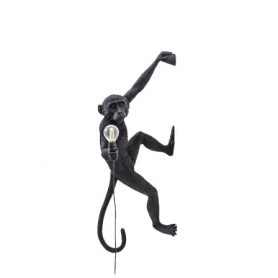 The Monkey Lamp Hanging Version Left (Black), Seletti - Deesup