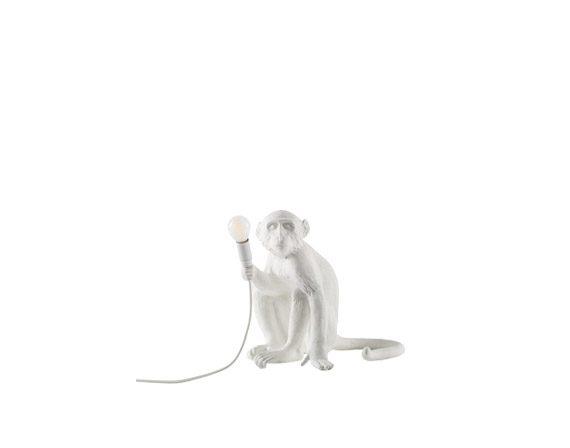 The Monkey Lamp (Sitting White), Seletti