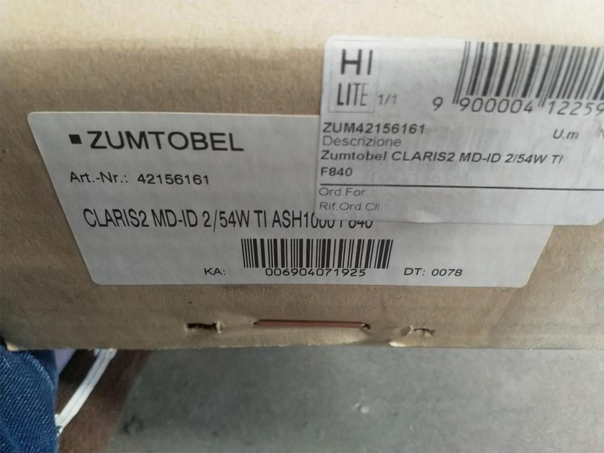 Claris II, Zumtobel - Deesup