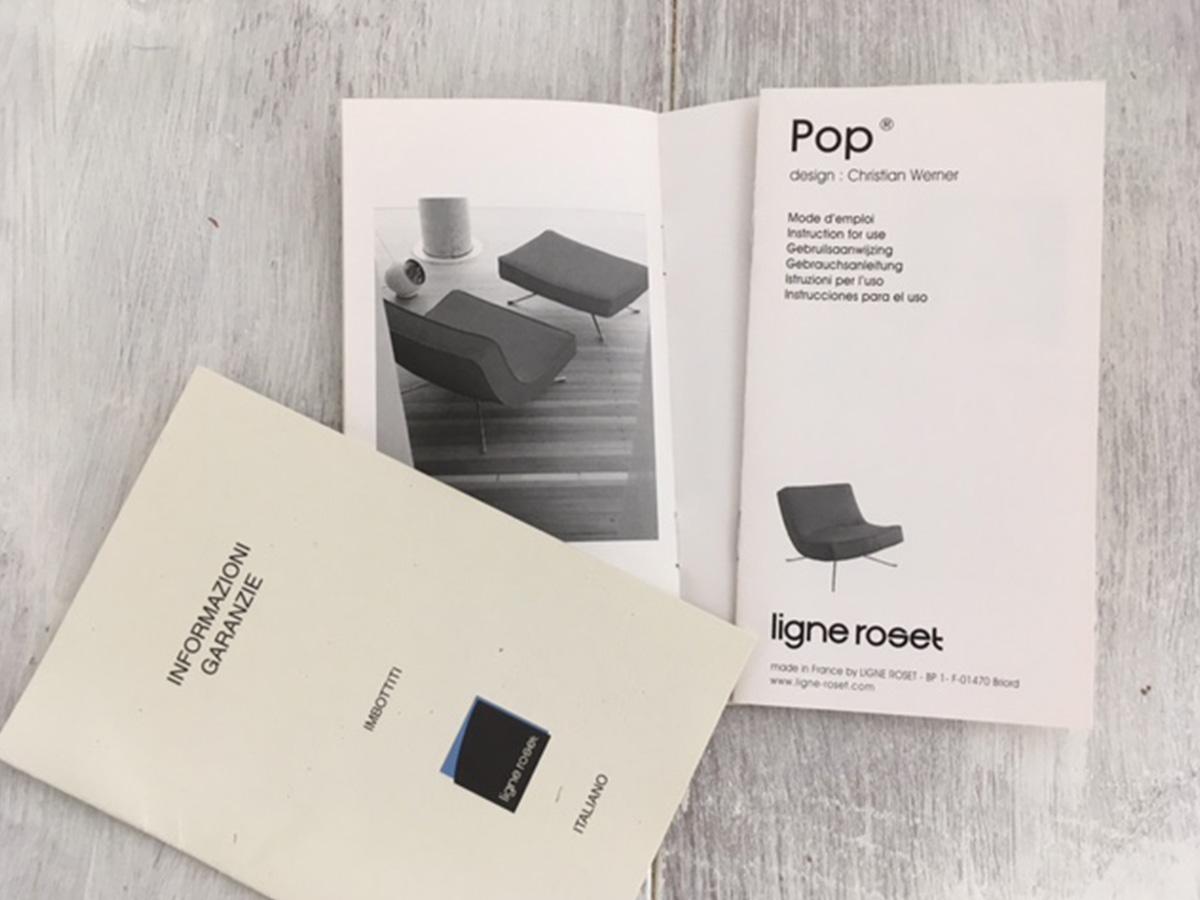 POP pouf Christian Werner, LIGNE ROSET - Deesup