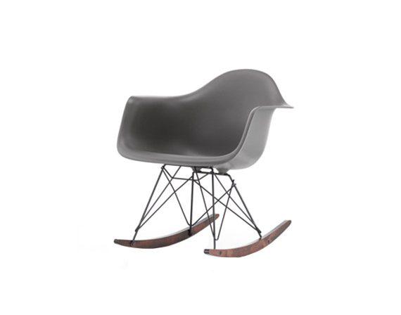 Eames Plastic Armchair RAR (dark grey), Vitra