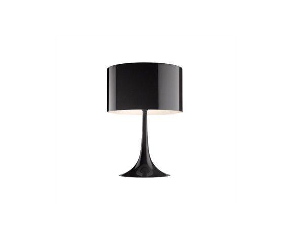 Spun Light Table 1 (nero), Flos