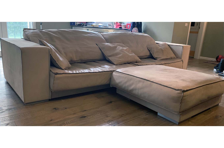 Budapest Soft (sofa and pouf), Baxter - Deesup