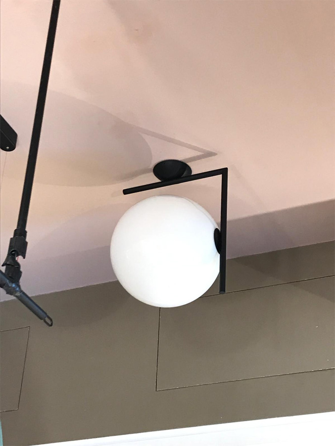 IC Lights Ceiling Wall 1 (nero), Flos