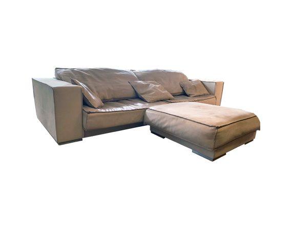 Budapest Soft (sofa and pouf), Baxter