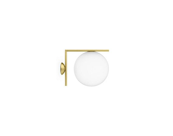 IC Lights Ceiling/Wall 1 (ottone), Flos