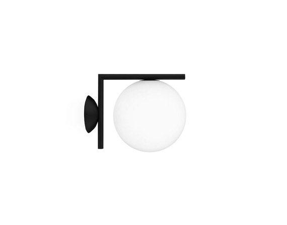 IC Lights Ceiling/Wall 2 (nero), Flos