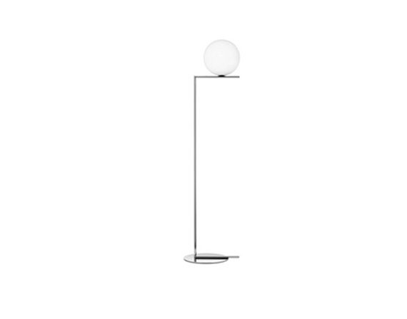 IC Lights Floor 2 (chrome), Flos