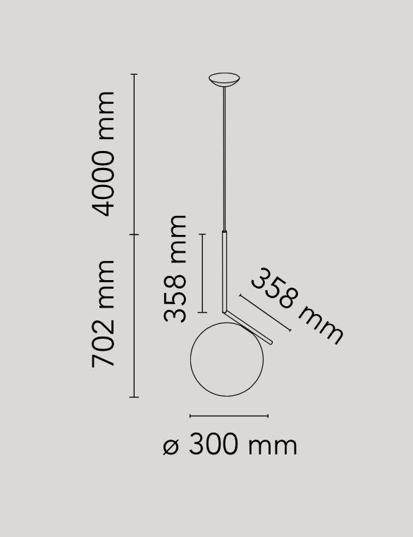 IC Lights Suspension 2 (ottone), Flos - Deesup