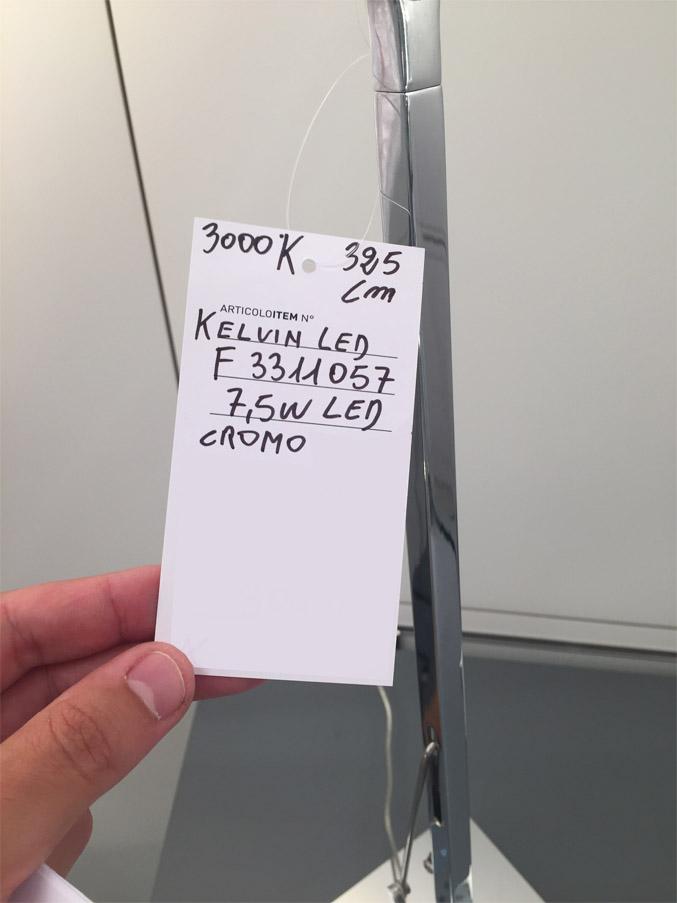 Kelvin LED (cromo), Flos - Deesup