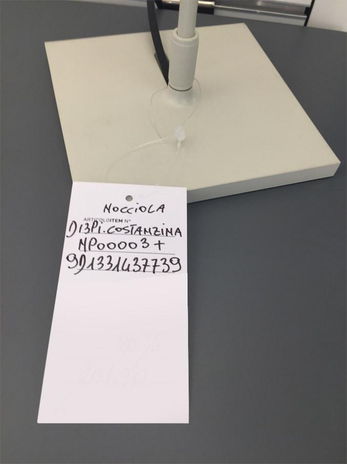 Costanzina Nocciola, Luceplan - Deesup
