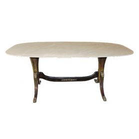 1940s-1950s marble top table - Deesup
