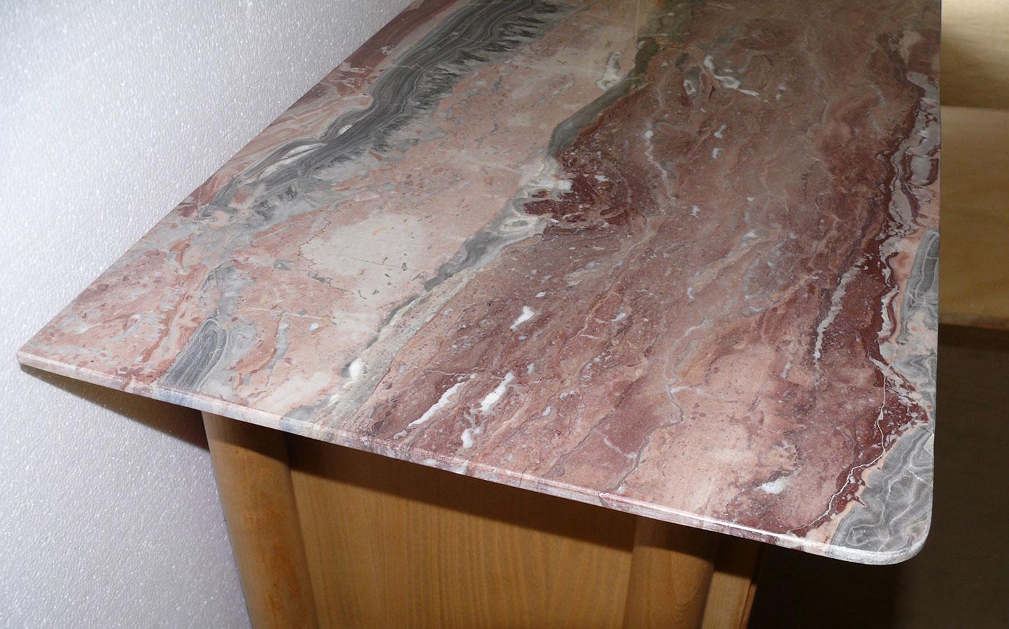 Highboard piano in marmo anni '50 - Deesup