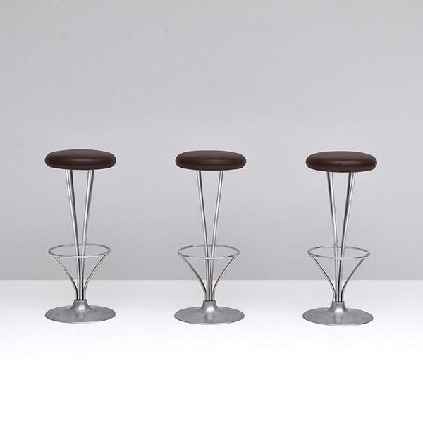 Set 3 sgabelli da bar di Piet Hein, Fritz Hansen - Deesup