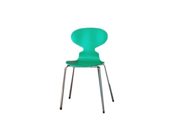 Ant Chair (verde), Fritz Hansen