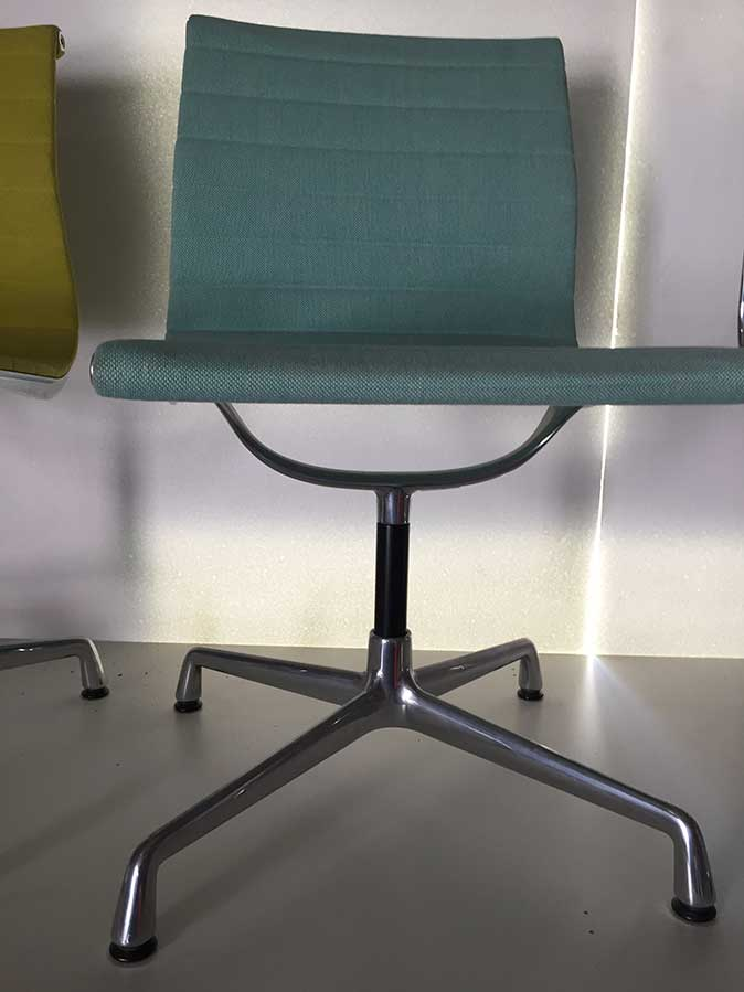 Aluminium Chair EA 101 (menta/avorio), Vitra - Deesup)