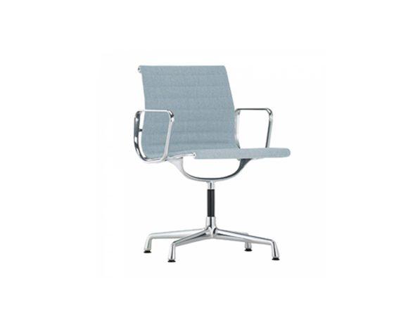 Aluminium Chair EA 104 (ice blue/avory), Vitra