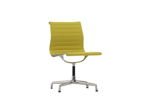 Aluminium Chair EA 101 (yellow/pastel green), Vitra