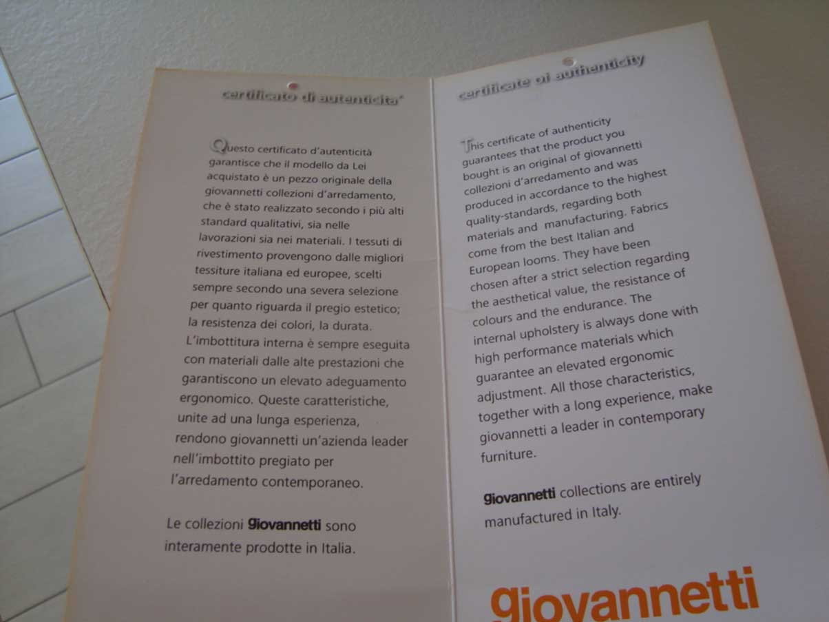 Flower (BLU), Giovannetti - Deesup