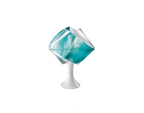 Gemmy Prisma table (emerald), Slamp