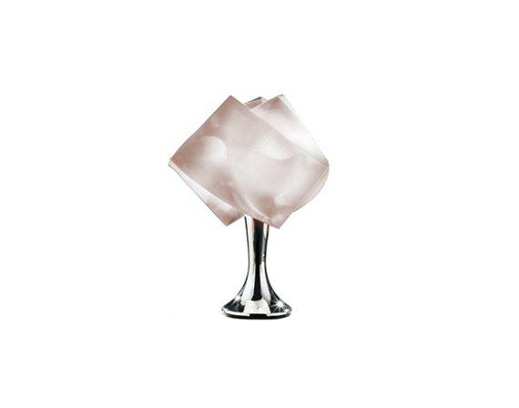 Gemmy Prisma table (rubin), Slamp