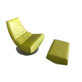 Olivier Chair e pouf, Montis - Deesup
