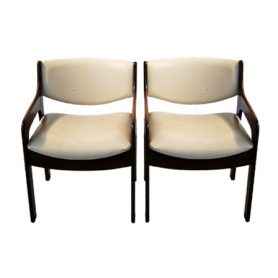Set 2 Scandinavian chairs (1950s) - Deesup