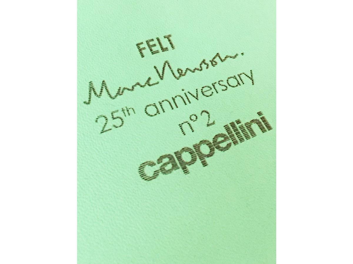 Felt 25 (special edition), Cappellini - Deesup