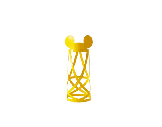 Mickey's Ribbon Stool (giallo), Cappellini