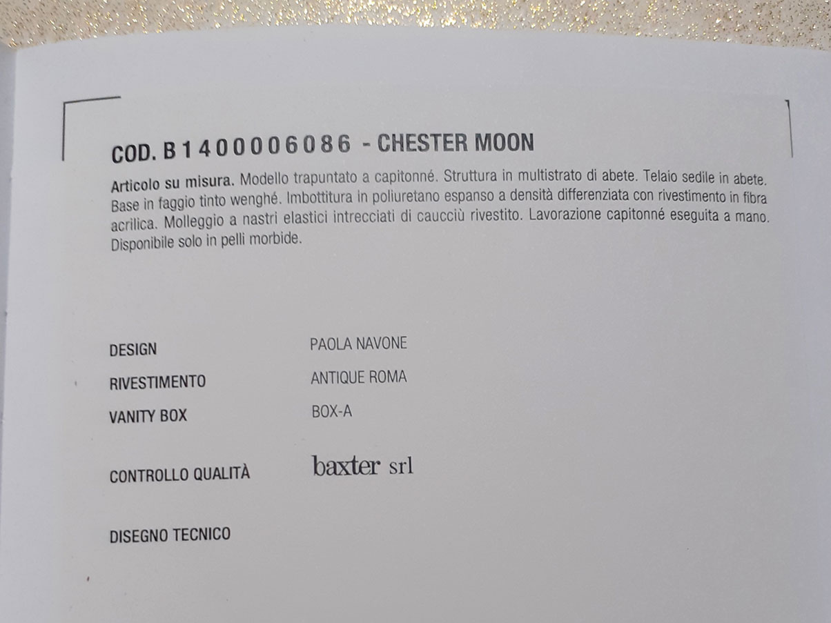 Chester Moon, Baxter - Deesup