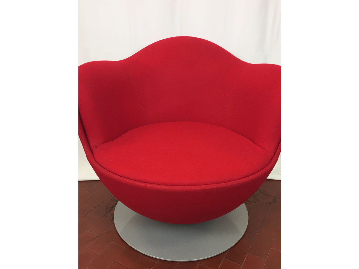 Dalia (red fabric), Cappellini - Deesup