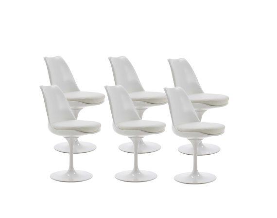 Set 6 Tulip Chairs Alivar Deesup