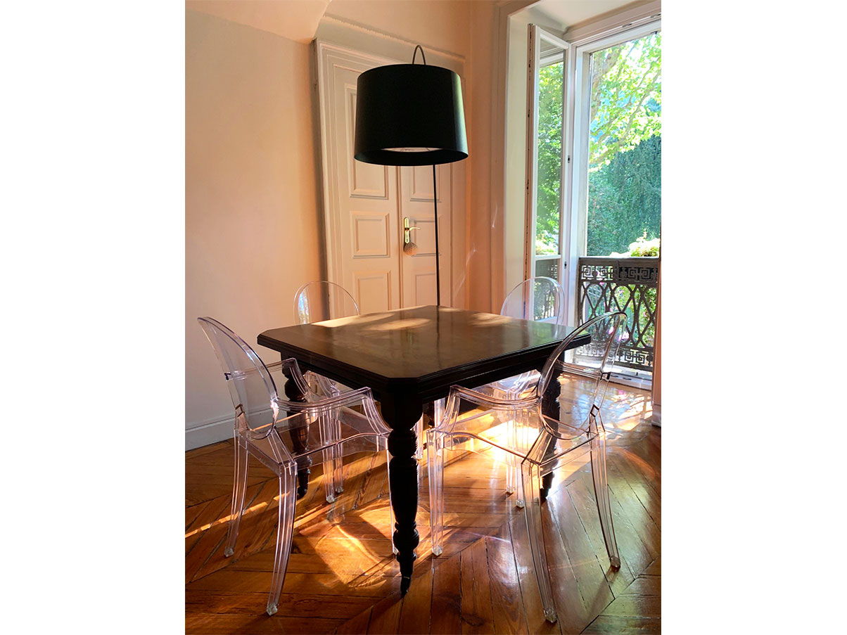 Set 4 Poltroncine Louis Ghost Di Philippe Starck Kartell Deesup