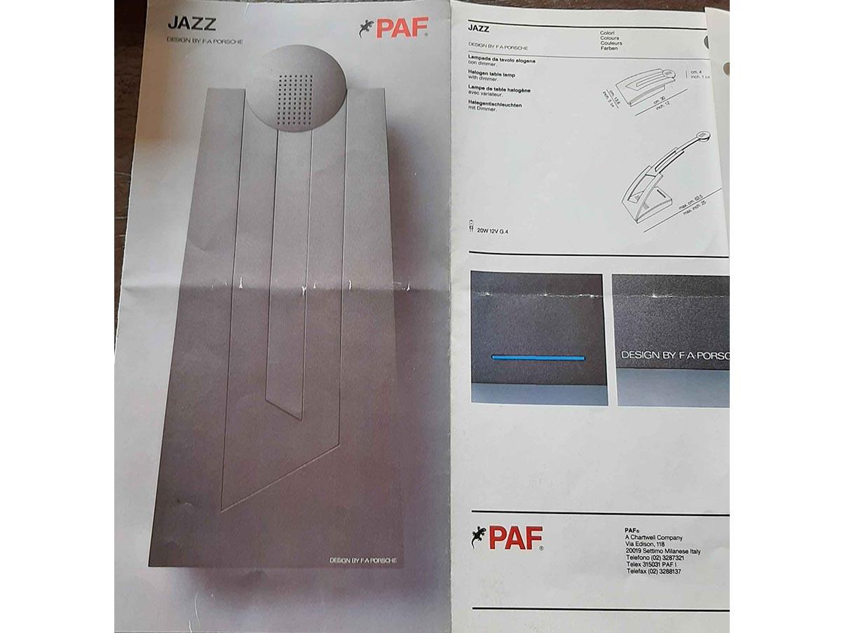 Lampada Da Tavolo Jazz In Materiale Plastico Paf Studio Deesup