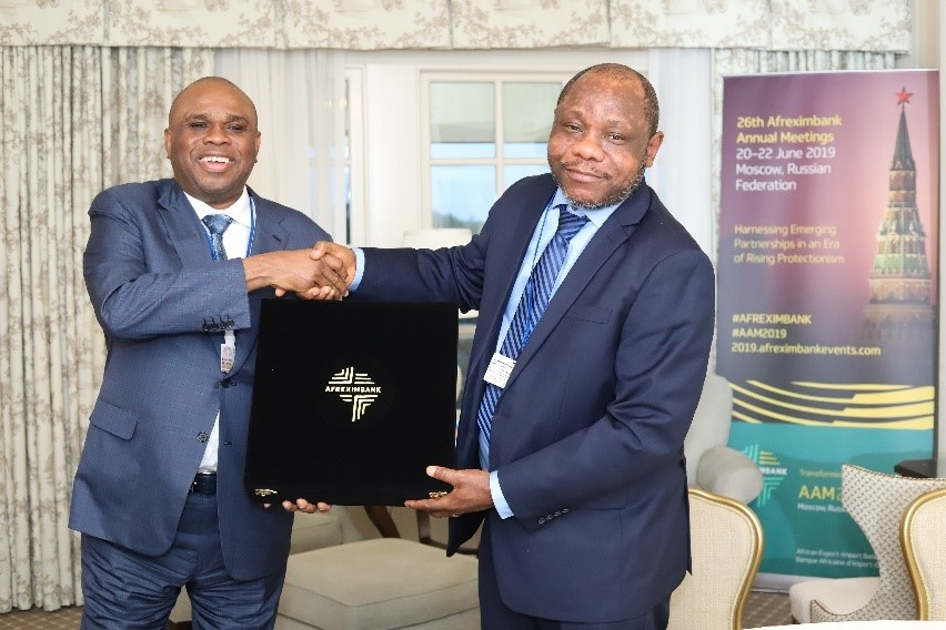 Afreximbank President Meets African Leaders at World Bank