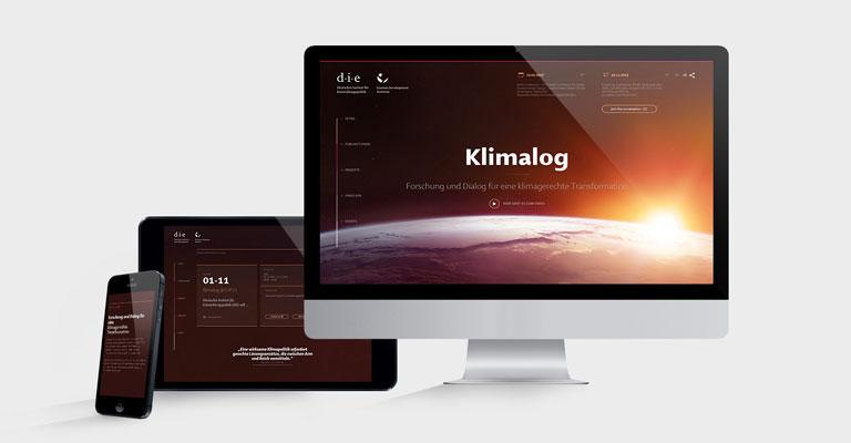 'Klimalog' ist online