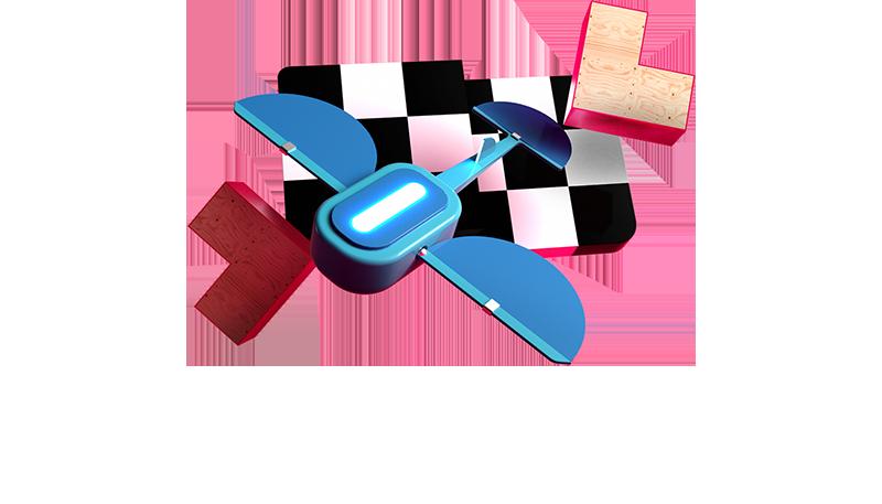 5G Drohnenrennen