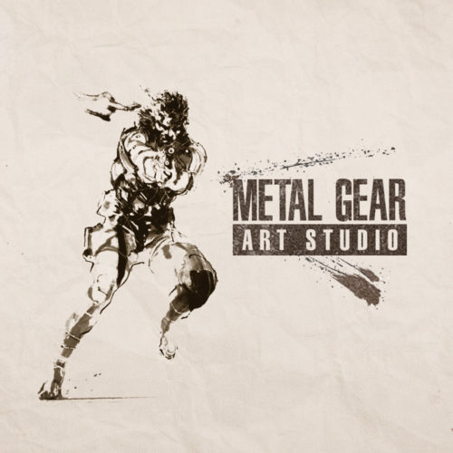 Konami Metal Gear Art Studio