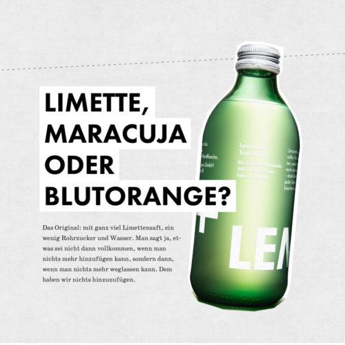 Lemonaid Trinken hilft!