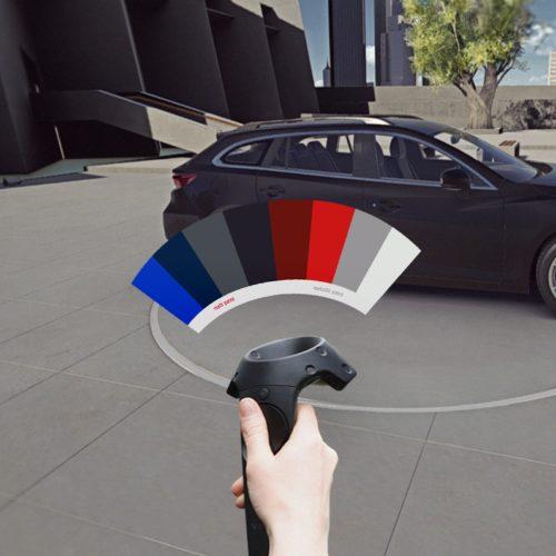 Mazda Virtual Reality Car Configurator