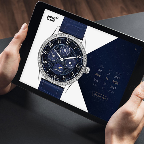 Montblanc Exclusive Digital Product Presentation