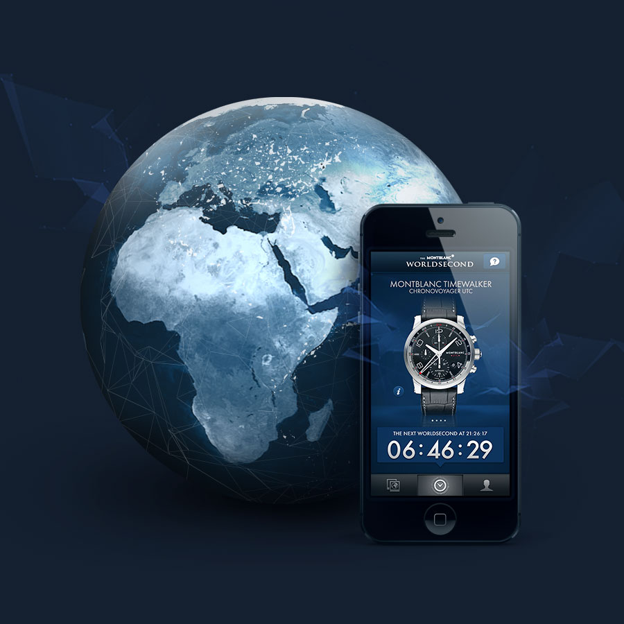 Montblanc The World Second App
