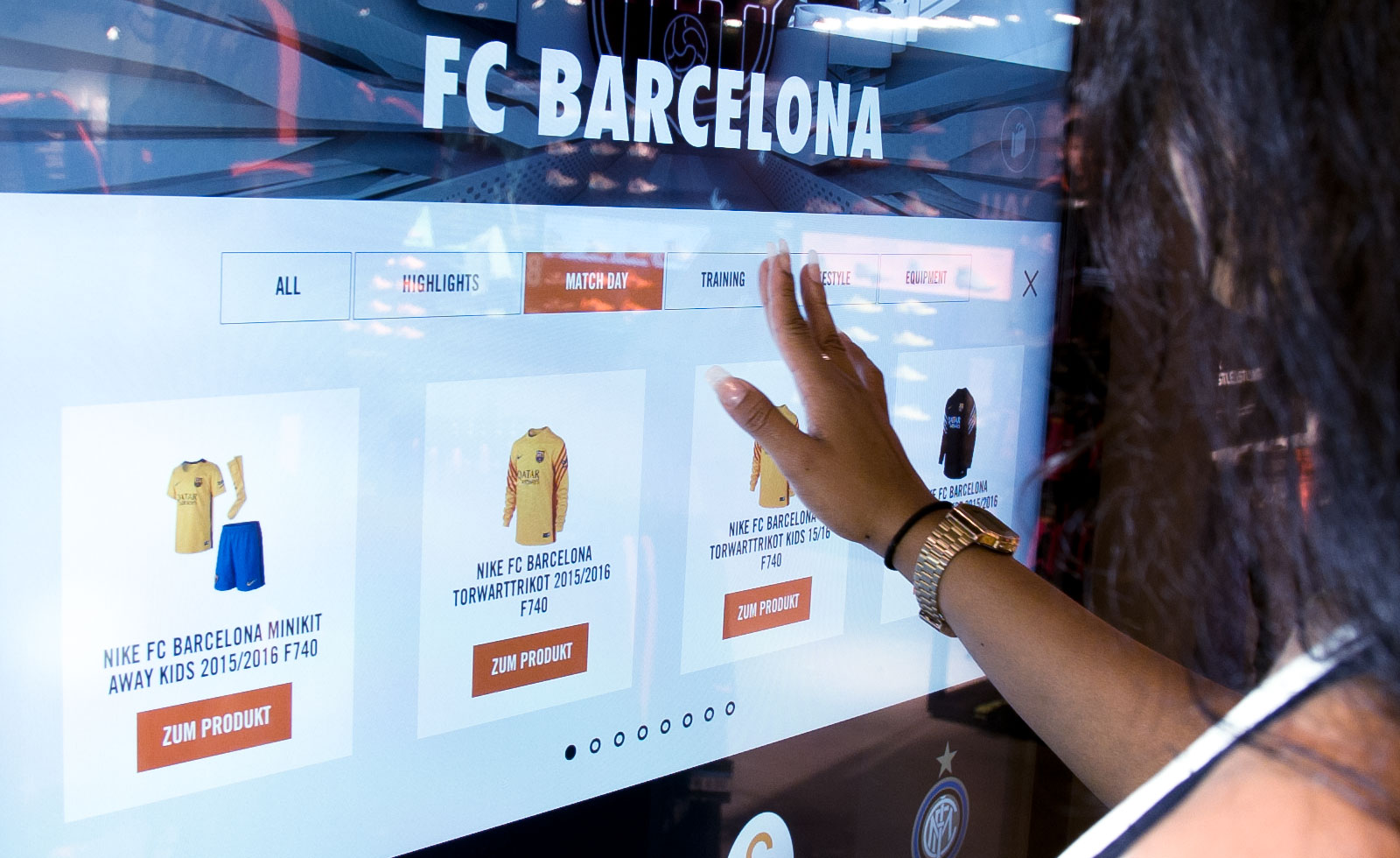 c6b41438fddfc Nike Digital Retail Experience - Demodern Digitalagentur