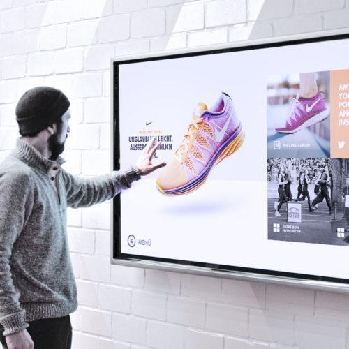 Nike Social Community Wall