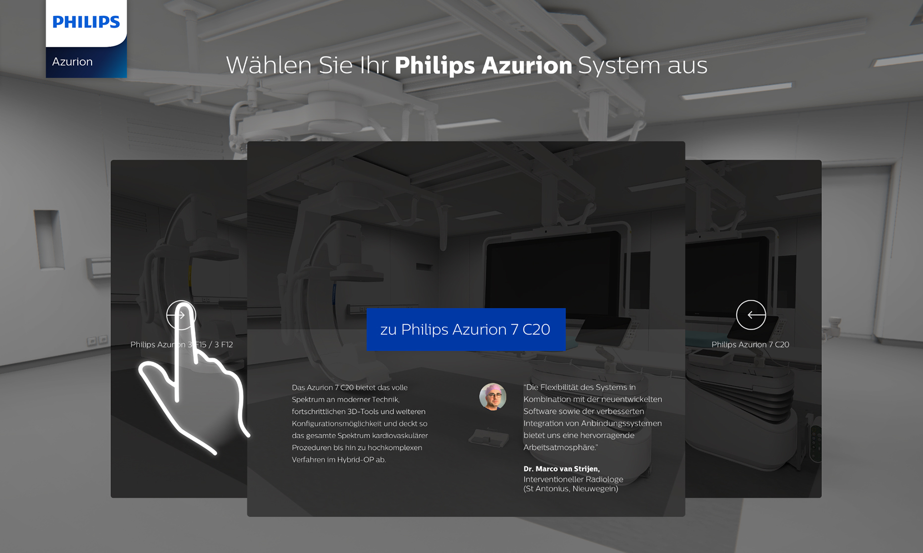 3D Media Touch Wall - Demodern Digitalagentur